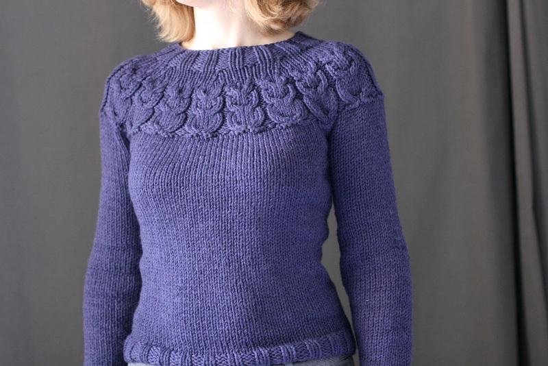 Pull en tricot enfants