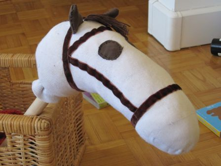 Cheval chaussette